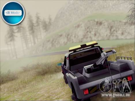 New Towtruck pour GTA San Andreas laissé vue