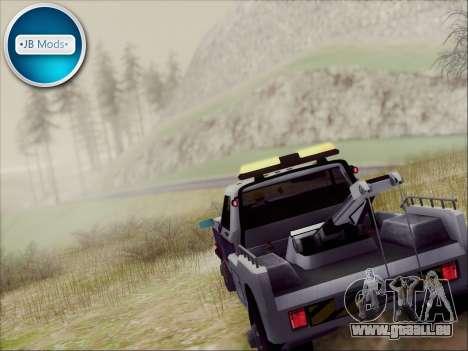 New Towtruck für GTA San Andreas linke Ansicht