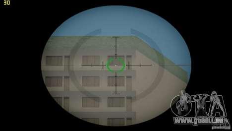 Viseur optique de GTA 5 pour le quatrième écran GTA Vice City