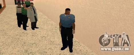 Medic Pack pour GTA San Andreas quatrième écran