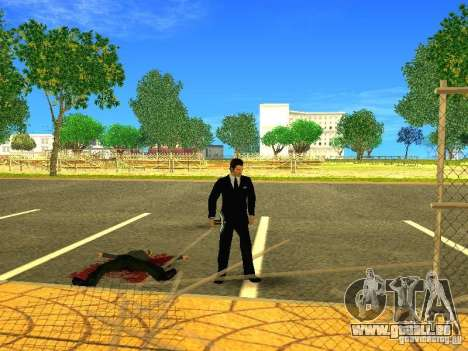 Wählen Sie aus dem Spiel Minecraft für GTA San Andreas fünften Screenshot