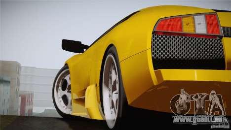Lamborghini Murcielago 2002 v 1.0 für GTA San Andreas zurück linke Ansicht