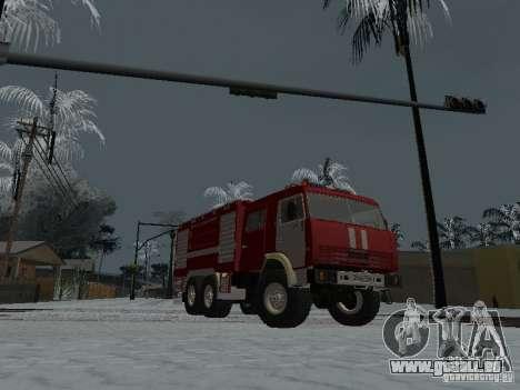 KAMAZ 43118 AC-7 pour GTA San Andreas vue de droite
