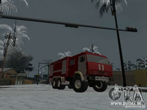 KAMAZ 43118 AC-7 für GTA San Andreas rechten Ansicht