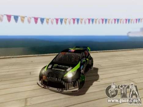 Ford Fiesta Gymkhana 3 pour GTA San Andreas vue arrière