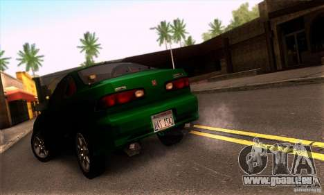 Honda Integra Tunable pour GTA San Andreas sur la vue arrière gauche