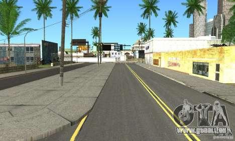 Real HQ Roads für GTA San Andreas her Screenshot