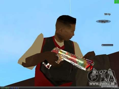Graffiti Gun Pack pour GTA San Andreas huitième écran