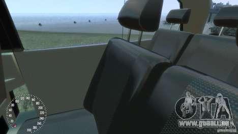 Mercedes-Benz Vito 2013 pour GTA 4 est une vue de dessous