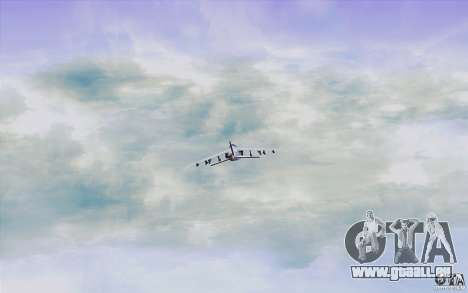 Sky Box V2.0 pour GTA San Andreas sixième écran