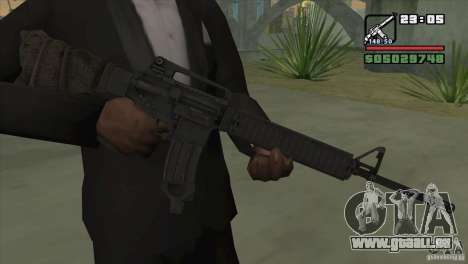 M16A4 from BF3 für GTA San Andreas