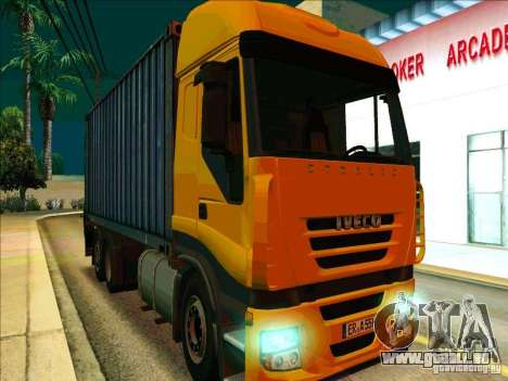 Iveco Stralis für GTA San Andreas linke Ansicht