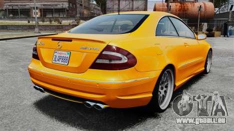 Mercedes-Benz CLK 55 AMG für GTA 4 hinten links Ansicht