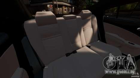 Dodge Charger RT Max FBI 2011 [ELS] pour GTA 4 est un côté