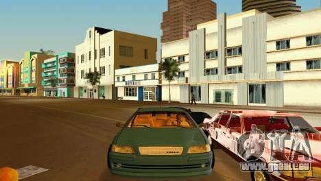 VOLVO V40 pour GTA Vice City vue arrière