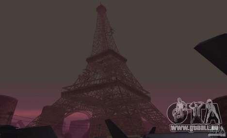 La tour Eiffel depuis Call of Duty : Modern Warf pour GTA San Andreas