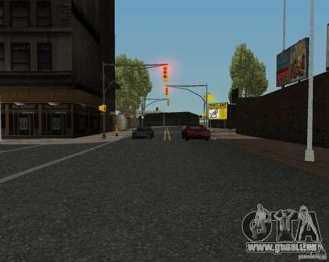Nouvelles textures route pour GTA UNITED pour GTA San Andreas sixième écran