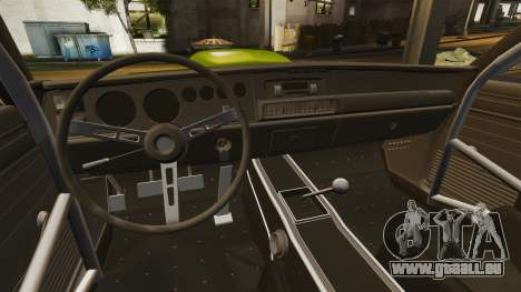 Dodge Charger RT SharkWide pour GTA 4 est un côté