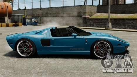 Ford GTX1 2006 für GTA 4 linke Ansicht