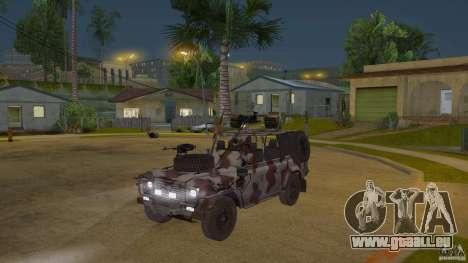 Land Rover WMIK für GTA San Andreas
