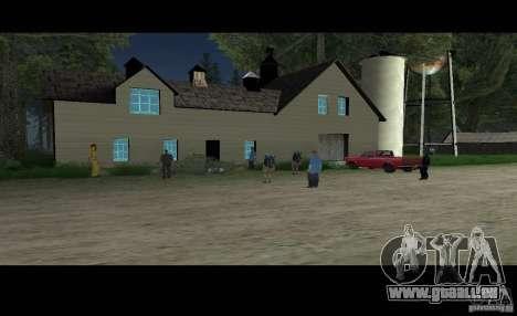 Sult Epsilon pour GTA San Andreas deuxième écran