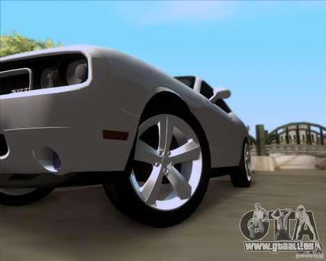 Dodge Challenger SRT8 2009 pour GTA San Andreas vue de côté