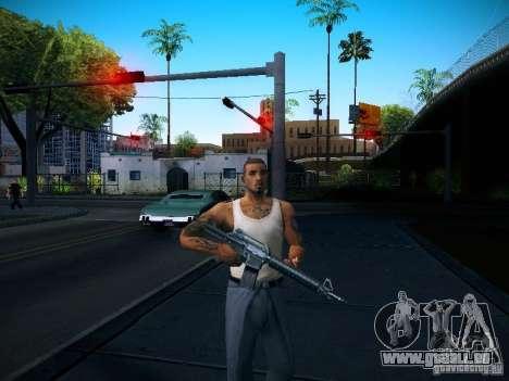 Changer les caractères pour GTA San Andreas
