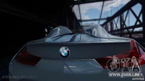BMW Vision ConnectedDrive Concept 2011 für GTA 4 hinten links Ansicht