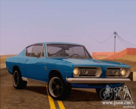 Plymouth Barracuda 1968 pour GTA San Andreas