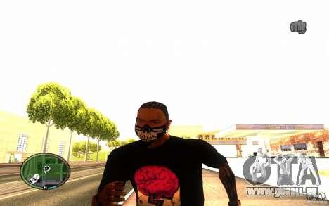Skull Mask pour GTA San Andreas cinquième écran