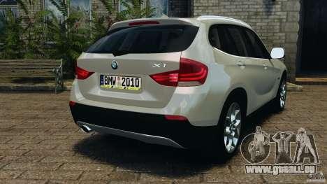 BMW X1 pour GTA 4 Vue arrière de la gauche