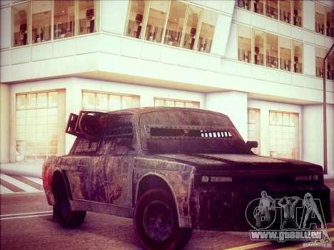 VAZ 2105 Gladiator pour GTA San Andreas laissé vue