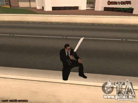 Gray weapons pack pour GTA San Andreas