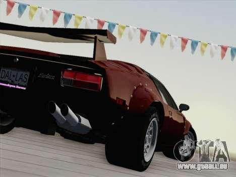 De Tomaso Pantera GT4 für GTA San Andreas obere Ansicht