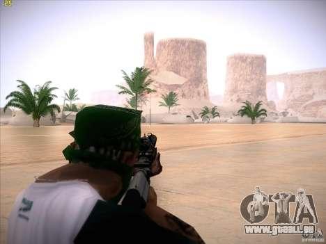 M4 Close Quarters Combat pour GTA San Andreas troisième écran