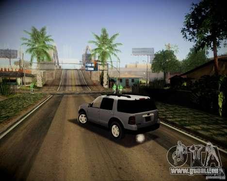 Ford Explorer pour GTA San Andreas laissé vue