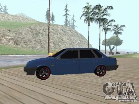 VAZ 21099 v2 pour GTA San Andreas vue arrière