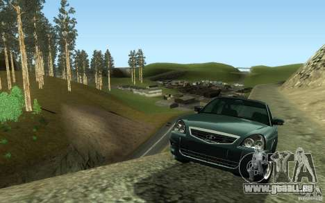 VAZ-2172 für GTA San Andreas zurück linke Ansicht