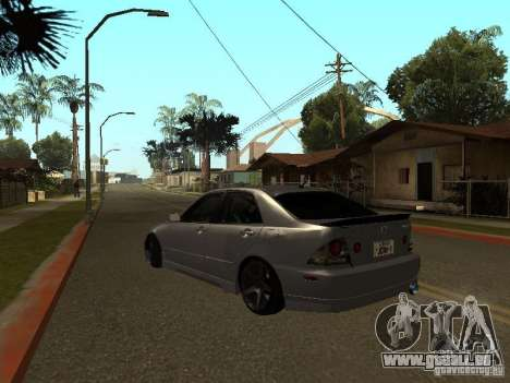 Lexus IS300 JDM für GTA San Andreas linke Ansicht