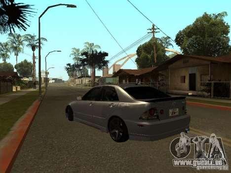 Lexus IS300 JDM für GTA San Andreas linke Ansicht