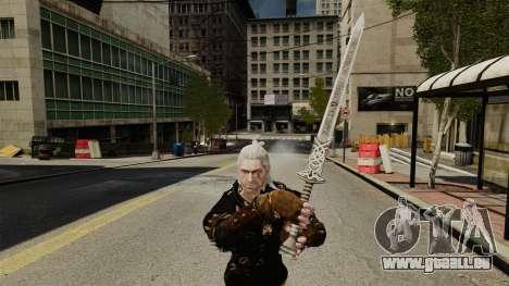 Épée de la v1 de The Witcher pour GTA 4