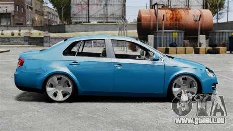 Volkswagen Jetta 2010 pour GTA 4 est une gauche