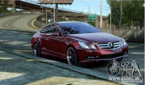 Mercedes Benz E500 Coupe pour GTA 4
