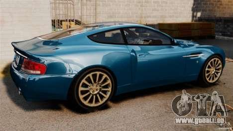 Aston Martin Vanquish 2001 für GTA 4 linke Ansicht