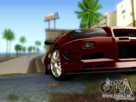 Nissan R34 Skyline GT-R für GTA San Andreas rechten Ansicht