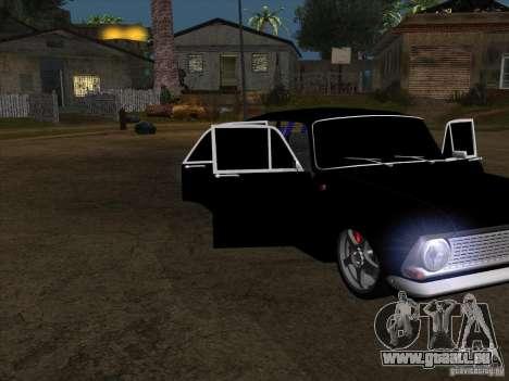 Moskvitch 408 Style supplémentaire pour GTA San Andreas sur la vue arrière gauche