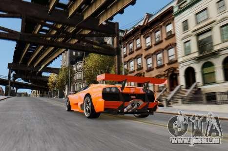 Lamborghini Murcielago RSV FIA GT1 für GTA 4 rechte Ansicht