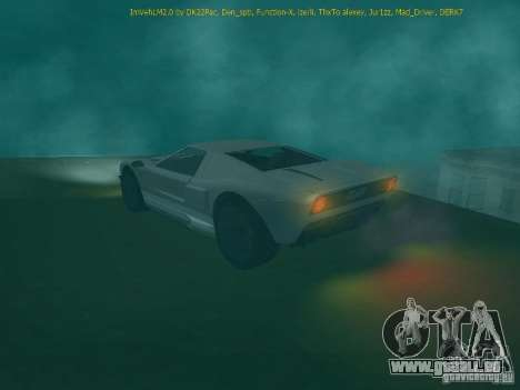 La balle de la GTA TBoGT FIV pour GTA San Andreas vue de droite