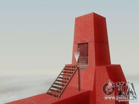 Escalade le Golden Gate Bridge pour GTA San Andreas quatrième écran