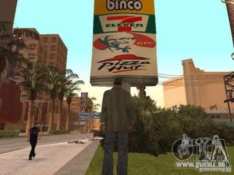 Nouveaux restaurants de textures pour GTA San Andreas